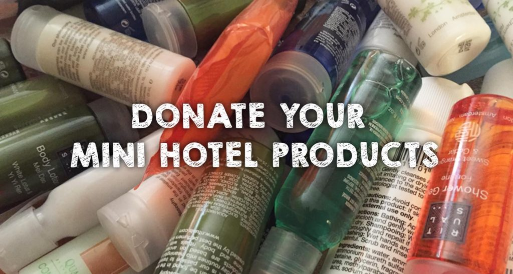 Donate Your Mini Hotel Products
