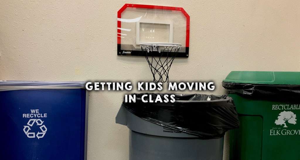 Getting Kids Moving in Class